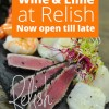 Relish Epicurea: Now Open Till Late